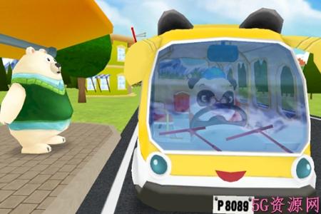腾讯熊猫博士巴士司机圣诞节版