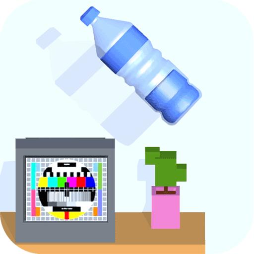 跳一跳瓶子翻转游戏v1.0