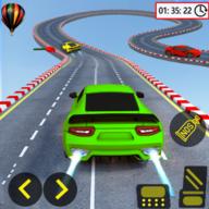 超级快车特技和驾驶游戏中文版v1.0