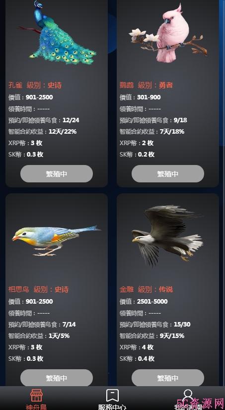 神舟鸟领养宠物赚钱游戏