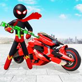 火柴人摩托车英雄中文破解版v1.0