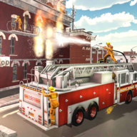 现代消防员消防车驾驶模拟器中文版v1.0