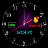 智能夜钟个性化闹钟部件安卓版v4.0