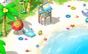 海滩度假模拟游戏