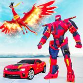 凤凰战争机器人英雄无人机射击中文安卓版v0.8.1