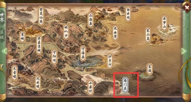 寻仙手游新地图南门关正式上线 带你领略不一样的美好