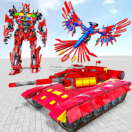 飞行鹰机器人汽车游戏2020最新版1.0.4 中文安卓版