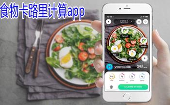 哪��app可以�算食物卡路里