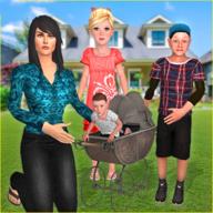 单亲妈妈模拟器游戏新版1.18 安装汉化版